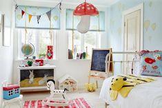 A Scandinavian design children bedroom via Sköna Hem