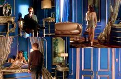 After all these year I still love Kathryn's bedroom from Cruel Intentions. Tiffany Blue Bedroom, Blue And Gold Bedroom, Blue Rooms, Dream Rooms, Dream Bedroom, Home Bedroom, Modern Bedroom, Cruel Intentions, Small Room Decor