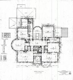 Magic Chef Mansion Architectural Plans--8