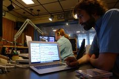 Robert Douglass at this very moment in the studio of the Wisconsin Public Radio, where the complete Open Goldberg recording is being broadcasted. You can watch the score along at http://opengoldberg.wpr.org