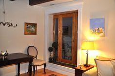 Door to terrace with side lite window in Newburyport condo