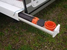 Sewer Hose storage. So going to do this for our new TT.