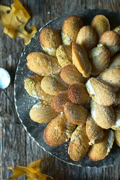 ... orange cardamom einkorn madeleines lemons and anchovies