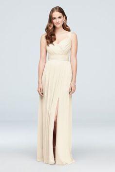 8854793551eb5 Pleated Mesh Sweetheart Tank Bridesmaid Dress 4XLF19943 Davids Bridal  Bridesmaid Dresses