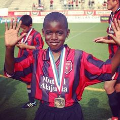 Young Joel Campbell