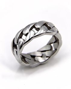 Cool Rings For Men, Rings For Boys, Rings Cool, Ring Boy, Man Ring, Men's Jewelry Rings, Accesorios Casual, Mens Silver Rings, Chains For Men