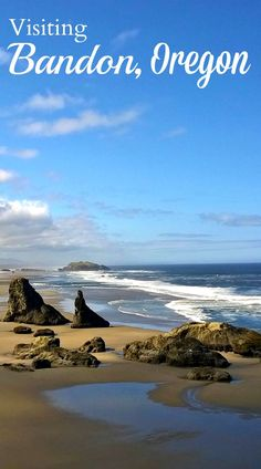 Planning a trip to the Oregon Coast? I shared  post about visiting Bandon By The Sea. It's a cute little surprise of a beach town that I fell in love with | http://www.rtwgirl.com/bandon-oregon | via @rtwgirl