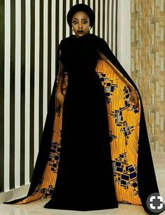 African Dress With Cape/African Dress Prom/African Print Dress/African Clothing/African Dress/Kitenge/African Dresses for Women/Ankara Dress African Party Dresses, African Dresses For Women, African Print Dresses, African Fashion Dresses, African Attire, African Wear, African Style, African Prints, Fashion Outfits