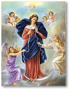 Virgin Mary Untier of Knots Prayer Cards - Personalizable Pope Francis has a special devotion to Our Lady Untier of Knots. Blessed Mother Mary, Divine Mother, Blessed Virgin Mary, Gods Princess, Vintage Holy Cards, Christian Posters, Mary And Jesus, Holy Mary, Catholic Gifts