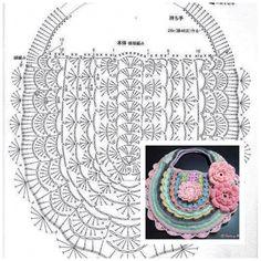 Beautiful bag quality for ladies – SkillOfKing. Crochet Clutch, Crochet Handbags, Crochet Purses, Crotchet Bags, Knitted Bags, Crochet Crafts, Crochet Projects, Irish Crochet, Knit Crochet