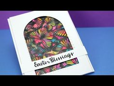 card making video tutorial: Stained Glass Butterflies ...