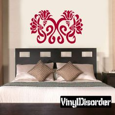 Flower Wall Decal - Vinyl Decal - Car Decal - CF23165