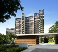 Residencia Goodwood / WOHA (Bukit Timah Road, Singapore) #architecture