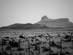 Marfa, TX Cathedral Peak my favorite mountain in Texas.