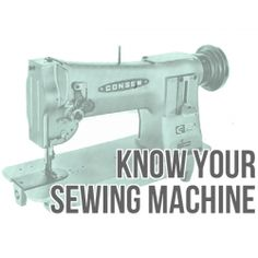 You have a sewing machine? Learn how to use it - in great detail!