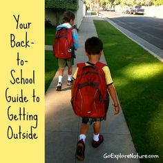 Your Back-to-School Guide to Getting Outside