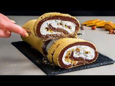 Fara coacere si fara timp pierdut! Rulada de exceptie in mai putin de 30 minute Cookrate-Romania - YouTube Biscuits, Doughnut, Entrees, Muffin, Diet, Baking, Breakfast, Menu, Food