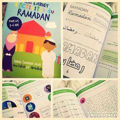 Retrouvez ce cahier d'activités du Ramadan destiné aux enfants de 3 à 6 ans - Une page d'activité par jour : coloriages, labyrinthes, écriture, quizz etc...