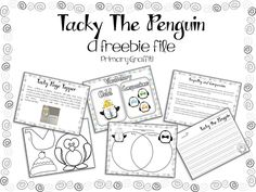 I love, love, love Tacky the Penguin!  This blog has lots of fun ideas: Primary Graffiti: Tacky Celebration {Freebie Lesson}