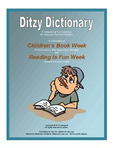 Children's Book Week (the first full week of May) and Reading is Fun Week (the second full week of May) are the inspirations for the Ditzy Dic...