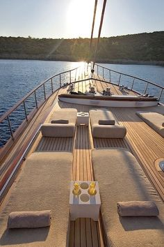 Luxury gulet Miss B Yacht Design, Places To Travel, Places To Go, Sailing Holidays, Travel Aesthetic, Sardinia, Luxury Life, Dream Vacations, Vacation Travel