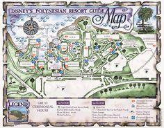 130 Best Disney\'s Polynesian Resort images | Disney world resorts ...