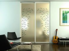 Innentüren-Glas-Ganzglastür-Rahmen-Metall