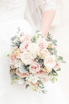 Elegant blush pink wedding bouquet --- love how full + tight knit the blooms are. The perfect bouquet for your elegant, spring wedding! Photo taken at THE SPRINGS Event Venue. this pin to our website for more information, or to book your free tour! Spring Wedding Bouquets, Spring Wedding Flowers, Bride Bouquets, Bridesmaid Bouquets, Blush Pink Wedding Flowers, Spring Flower Bouquet, Bridal Flowers, Wedding Dresses, Boquette Wedding