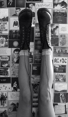 ♡ #Grunge -Lay Up Boots B)