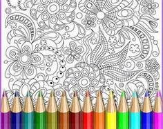 COLORING WITH PENCILS