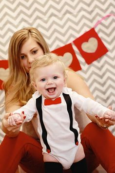 baby boy suspenders and bow tie, baby valentines photo shoot. www.myblossomingbud.blogspot.com