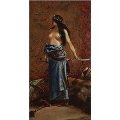 Judith by Jean-Joseph Benjamin-Constant Joseph, Egyptian Fashion, Creepy Houses, Arabian Art, France Art, Indian Bridal Wear, National Portrait Gallery, Perfect Photo, Oil Painting On Canvas