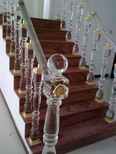 crystal encrusted wall mirror my kind of stairs. Black Bedroom Furniture Sets. Home Design Ideas