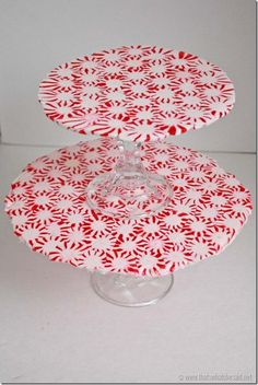 Peppermint Serving Tray 3
