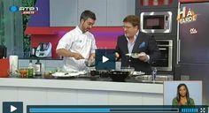 Programa Há tarde RTP 1 - Chef Henrique Sá Pessoa