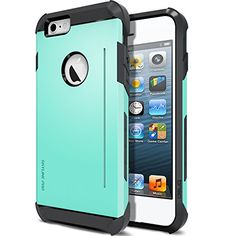 """iPhone 6 Case, Obliq [Kickstand Feature] iPhone 6 4.7"""" Case [SkyLine Pro] [Mint] w/ HD Screen Protector - Premium Slim Fit Dual Layer Hard Case - Verizon, AT&T, Sprint, T-Mobile, International, and Unlocked - Case for Apple iPhone 6 4.7 Inch Late 2014 Model - http://www.amazoncraze.com/electronics/iphone-6-case-obliq-kickstand-feature-iphone-6-4-7-case-skyline-pro-mint-w-hd-screen-protector-premium-slim-fit-dual-layer-hard-case-verizon-att-sprint-t-mobile-international-a/"""