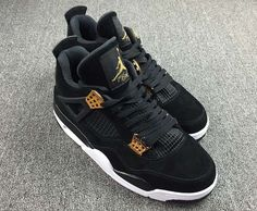 7b26447d4f5 Air Jordan 4 Royalty Release Date. The Air Jordan 4 Retro Royalty dressed  in Black