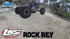 Losi Rock Rey - Running Video and Back Flip!