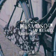 Todo Lo Hizo HERMOSOEn SU TIEMPO. Eclesiastes 5:11 #JovenesADG…