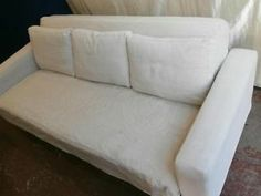 FUTON COMPANY Cream Sofa bed - Extremely comfortable (Delivery) Greenwich Picture 1