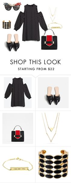 """""""look del dia"""" by aliciagorostiza on Polyvore featuring moda, Piel Leather, House of Harlow 1960 y Anna-Karin Karlsson"""