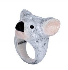 Koala ring - Nach Jewelry - cute