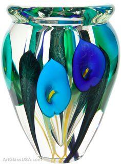 Calla lily vase by Scott Bayless