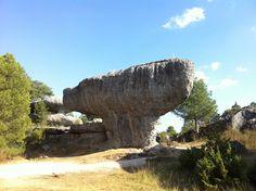 Ciudad Encantada en Valdecabras, Castilla-La Mancha South Of Spain, Iberian Peninsula, Geology, Enchanted, Mount Rushmore, How To Memorize Things, Landscapes, June, Weather