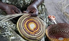 Cultural traditions such as weaving are kept alive by Indigenous women, but some Aboriginal languages are at risk of extinction.