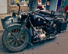1940's bmw r75 with sidecar- WANT!