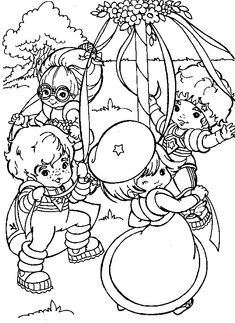 images of rainbow bright coloring pages | 3996 COLORING PAGES