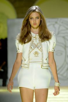 love this Versace cropped jacket