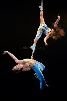 Duo Act from Corteo Cirque du soleil Duo Straps Duo Aerial Duo Turkeev
