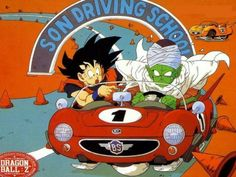 Goku and Piccolo's Driving Lessons. So hilarious